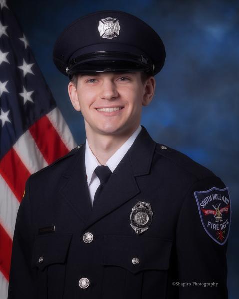 South Holland FD Firefighter Dylan Cunningham