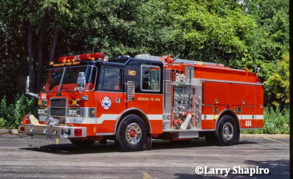1992 Pierce Dahs fire engine