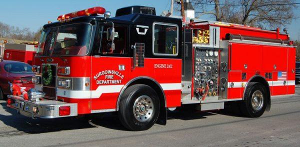 former Wheaton FD fire engine