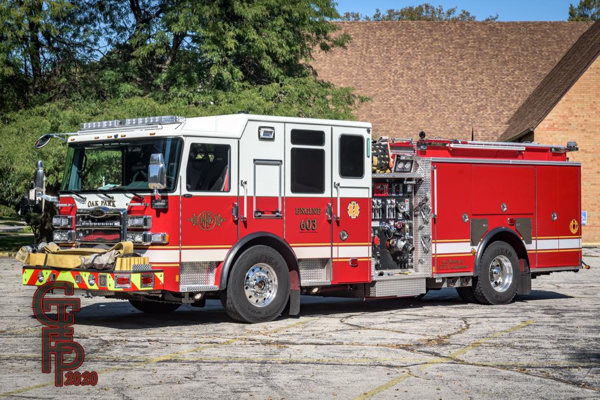 2020 Pierce Enforcer fire engine