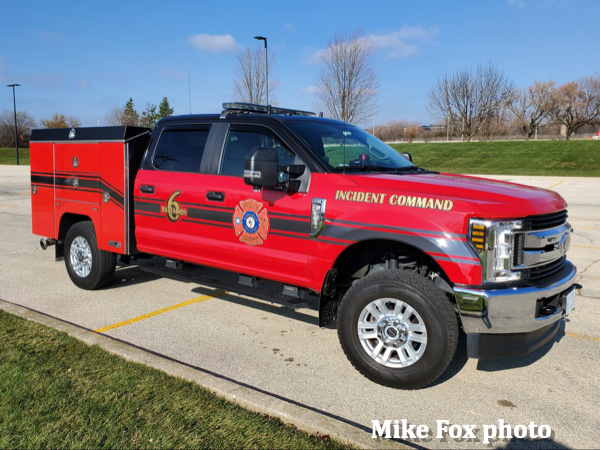 fire department chief vehicle