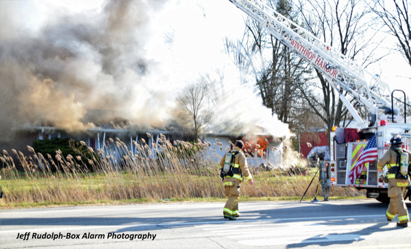 house destroyed by fire in Beach Park IL