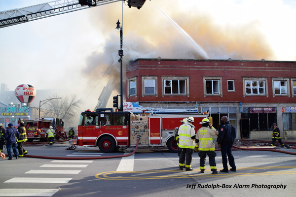 2-11 Alarm fire in Chicago