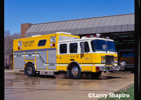 E-ONE Sentry heavy rescue squad