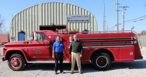 former Willisville Fire Department 1963 Chevrolet Howe fire engine