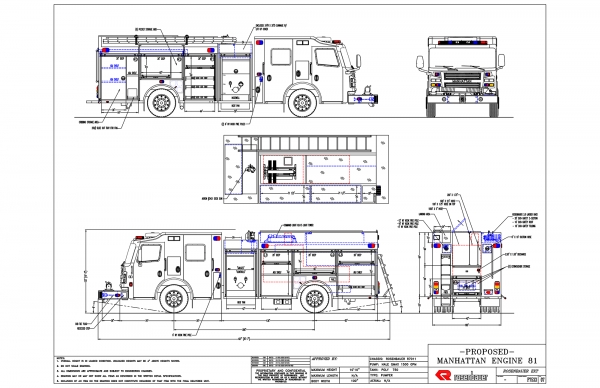 New Rosenbauer Commander EXT pumper for Manhattan FPD Engine 81