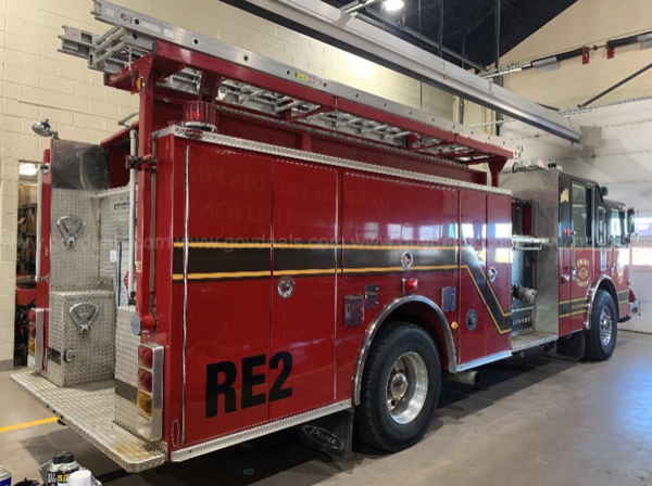 2003 Pierce Dash fire engine for sale