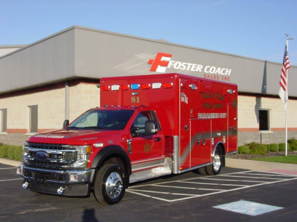 Horton Type 1 ambulance on Ford F550 chassis