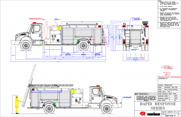 Elgin Community College Fire Science Program purchase new fire engine