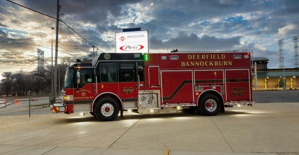 2020 Pierce Dash CF PUC fire engine