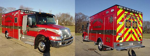 IHC MV/Horton Type 1 ambulance