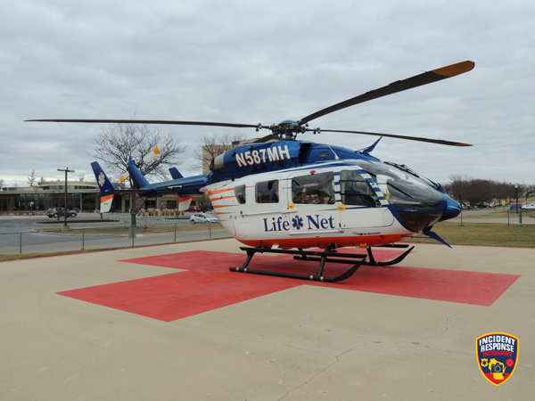 former Flight For Life medical helicopter