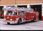 Evanston Fire Department Truck 21 - 1977 Seagrave