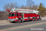 1990 Pierce Arrow ladder truck