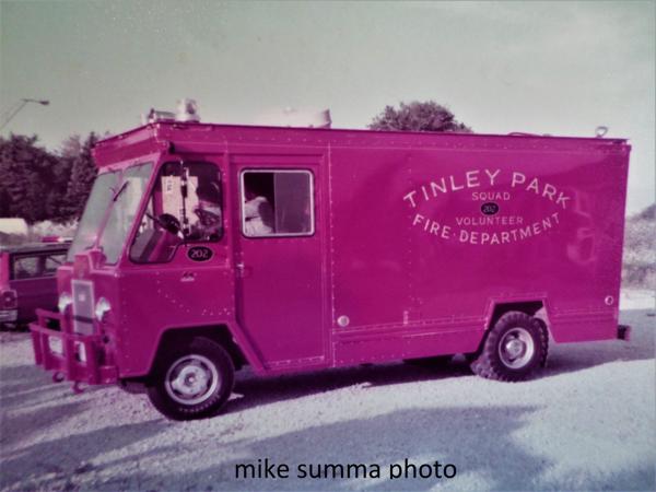 Tinley Park FD history