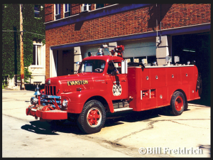 Evanston Fire Department history