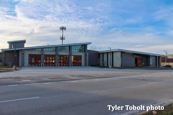 new fire station in Streamwood IL
