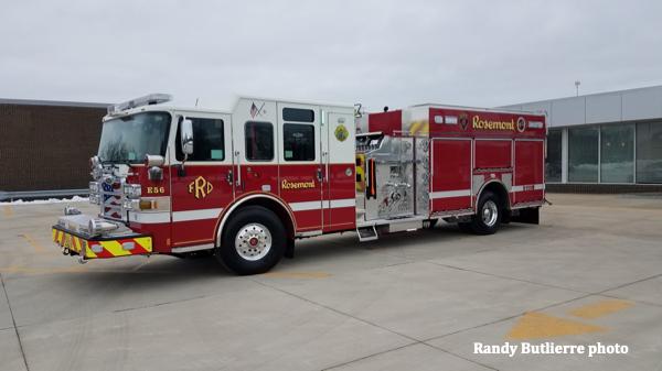 2020 Pierce Enforcer heavy duty rescue pumper