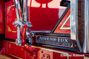 former Bloomington IL Fire Department 1928 Ahrens Fox fire engine