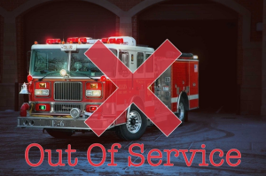 Elgin Fire Department places an engine out of service because of budgetary reasons