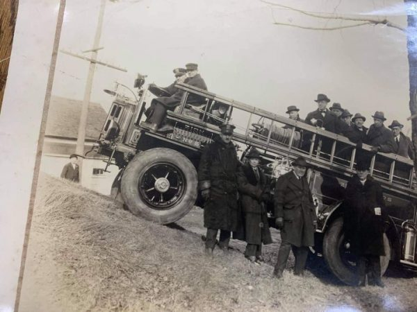 vintage Pirsch fire engine