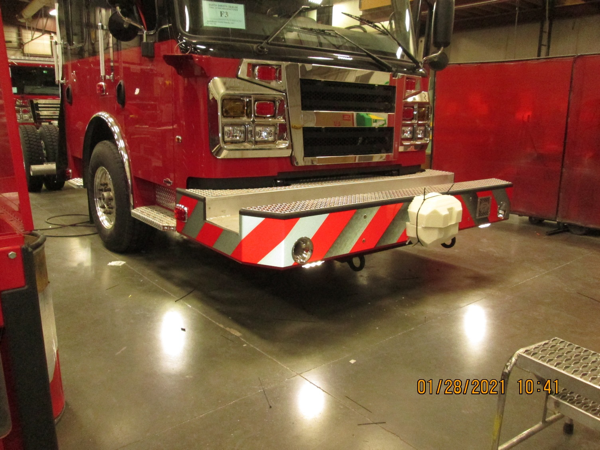 Rosenbauer fire engine being built for the Ashkum Fire Department
