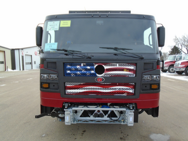 fire engine being built for the Matteson Fire Department