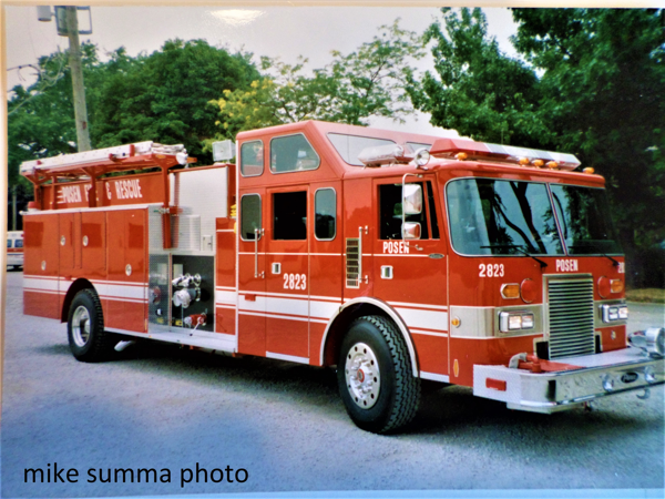 1991 Pierce Lance rescue pumper