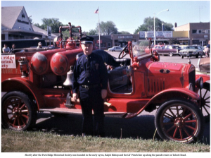 Park Ridge FD 1921 Pirsch fire engine