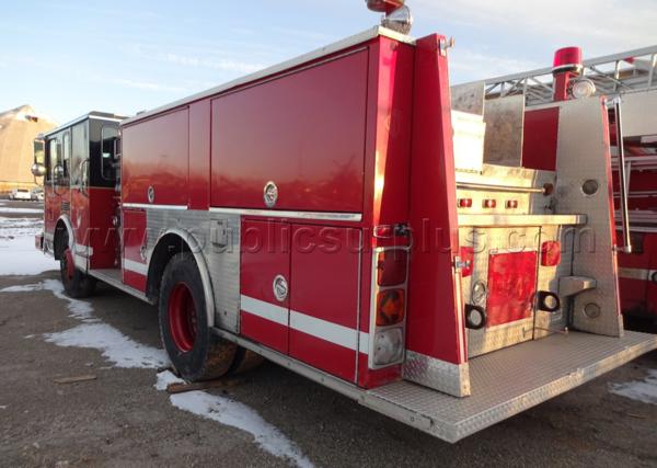 Surplus Chicago 1992 Spartan - Luverne fire engine for sale