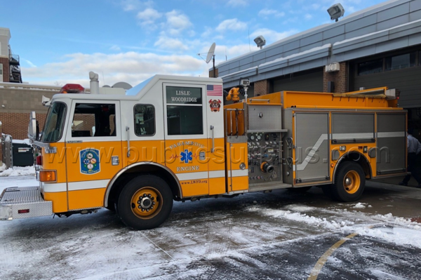 2006 Pierce Enforcer fire engine for sale