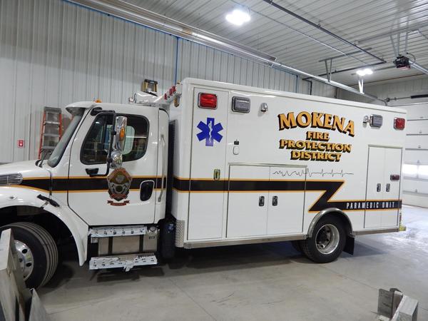 ambulance being refurbished