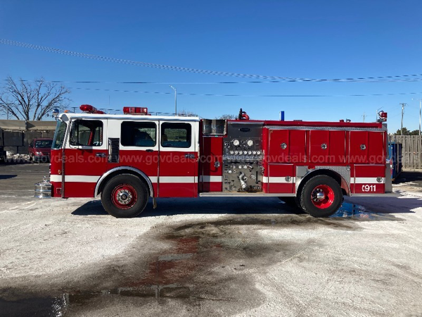 1989 Spartan/E-One Fire Engine for sale