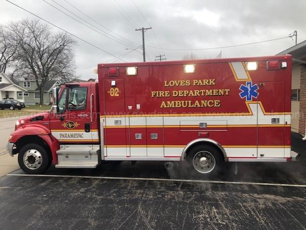 2009 International 4300 Life Line Type 1 ambulance for sale