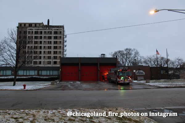 Chicago FD Engine 95's house