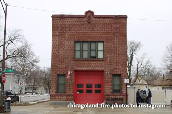 single engine Chicago firehouse