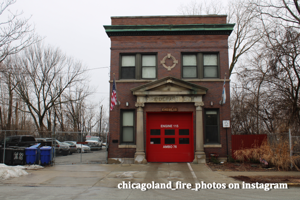 single engine firehouse in Chicago