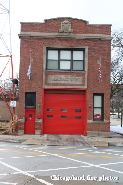 single truck firehouse in Chicago