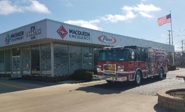 2021 Pierce Saber fire engine