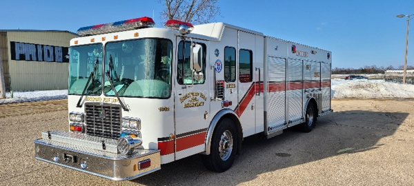 2000 HME/Smeal heavy rescue squad for sale