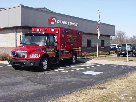Freightliner/Horton Type 1 ambulance