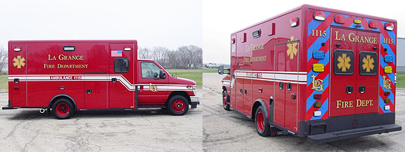 Ford E /. Horton Type 3 ambulance