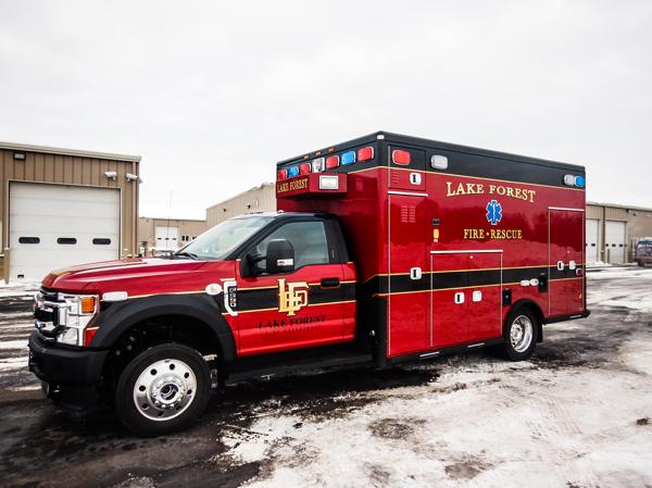 American Rescue Vehicles Type 1 ambulance
