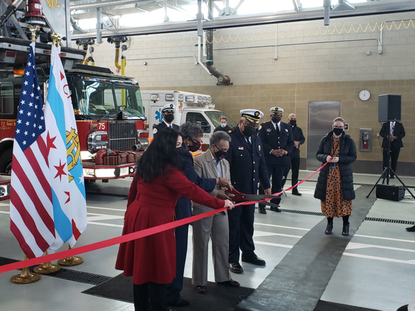 new Chicago firehouse for Engine Co 115