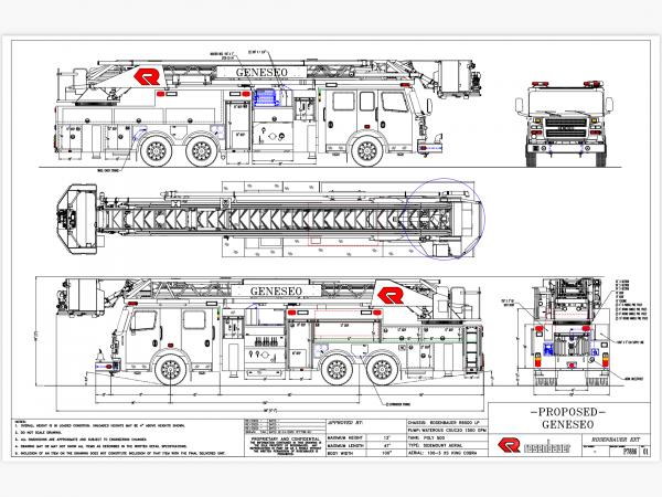 Geneseo FPD orders Rosenbauer King Cobra platform aerial