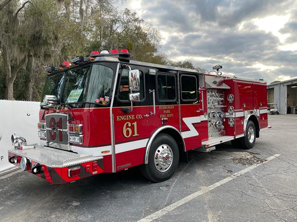 2021 E-ONE Cyclone fire engine