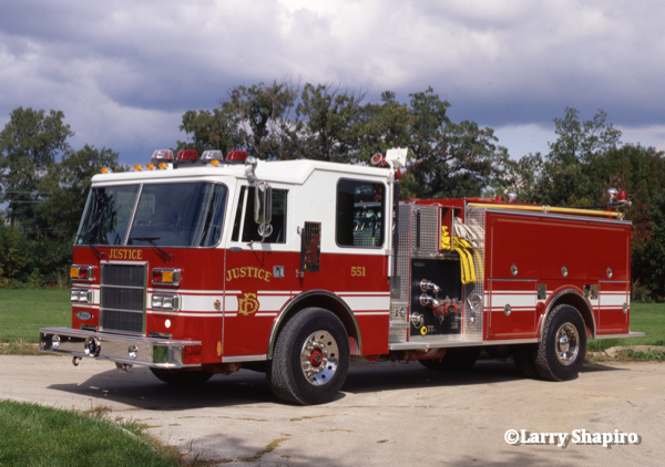 1993 Pierce Dash fire engine after delivery #larryshapiro