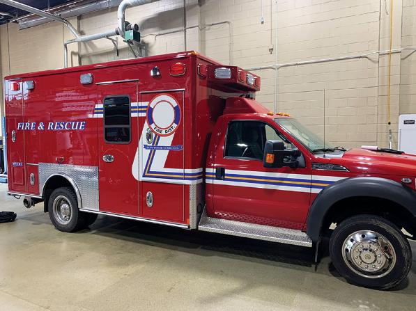 2013 Ford/Wheeled Coach ambulance Type 1