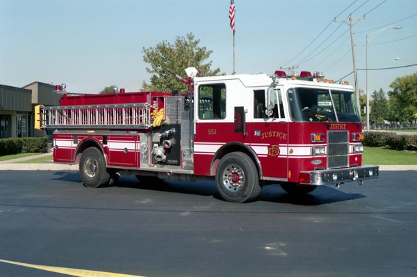 1993 Pierce Dash fire engine