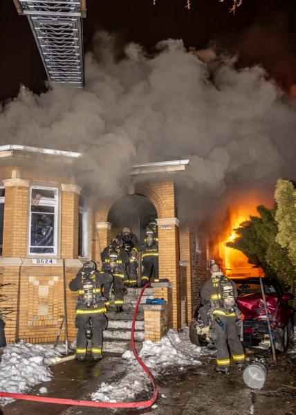 double fatal arson fire in Chicago